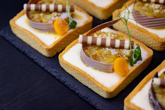 декорирование тартов